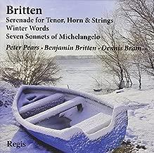 Britten: Song Cycles by Benjamin Britten