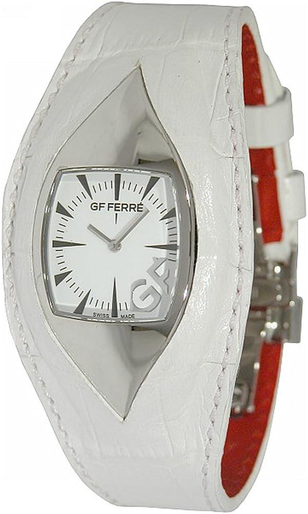 Gianfranco ferré orologio da donna cassa in acciaio inossidabile cinturino in pelle GF 9011M