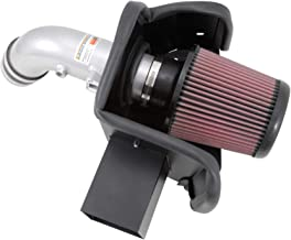 K&N Cold Air Intake Kit with Washable Air Filter:  2013-2018 Nissan Altima , 2,5L L4, Polished Metal Finish with Red Oiled Filter, 69-7064TS
