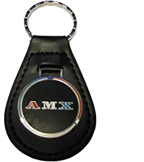 AMX Keychain - Leather Fob - Nice