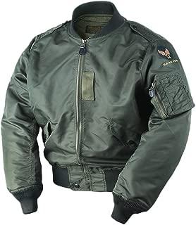 VTGDR WW2 USAF L2B Bomber Flight Jacket Nylon Men's L-2B Military Outwear