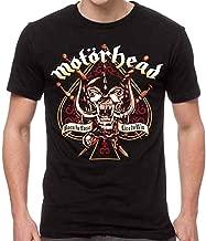 GLOBAL Motorhead Men's Sword Spade Clean T-Shirt Black