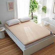 Japanese Quilting Futon Mattress,Kids Floor Mattress Floor Bed Foldable,Single Double Anti-Slip Floor Mat,Roll Up Futon Ma...