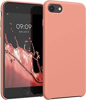 kwmobile telefoonhoesje compatibel met Apple iPhone 7/8 / SE (2020) - Hoesje met siliconen coating - Smartphone case in ko...