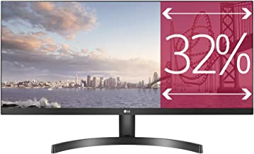 LG 34WK500-P 86,36 cm (34 Zoll) 21:9 UltraWide™ Full HD IPS Monitor (AMD FreeSync,..