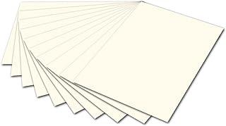 Folia Carton Photo 6101, 50x 70cm, 10Archet, Blanc Perle