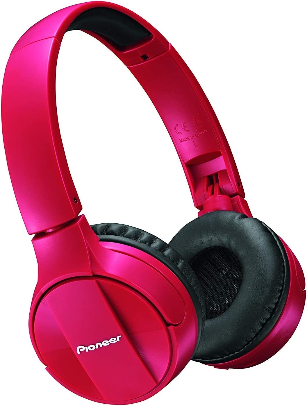 Pioneer Home Wireless Bluetooth Stereo H, red (SE-MJ553BT-R)