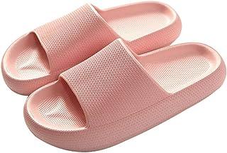 Sandalias Antideslizantes engrosadas de Secado rápido universales Zapatillas de Ducha Zapatos de casa con Punta Abierta pa...