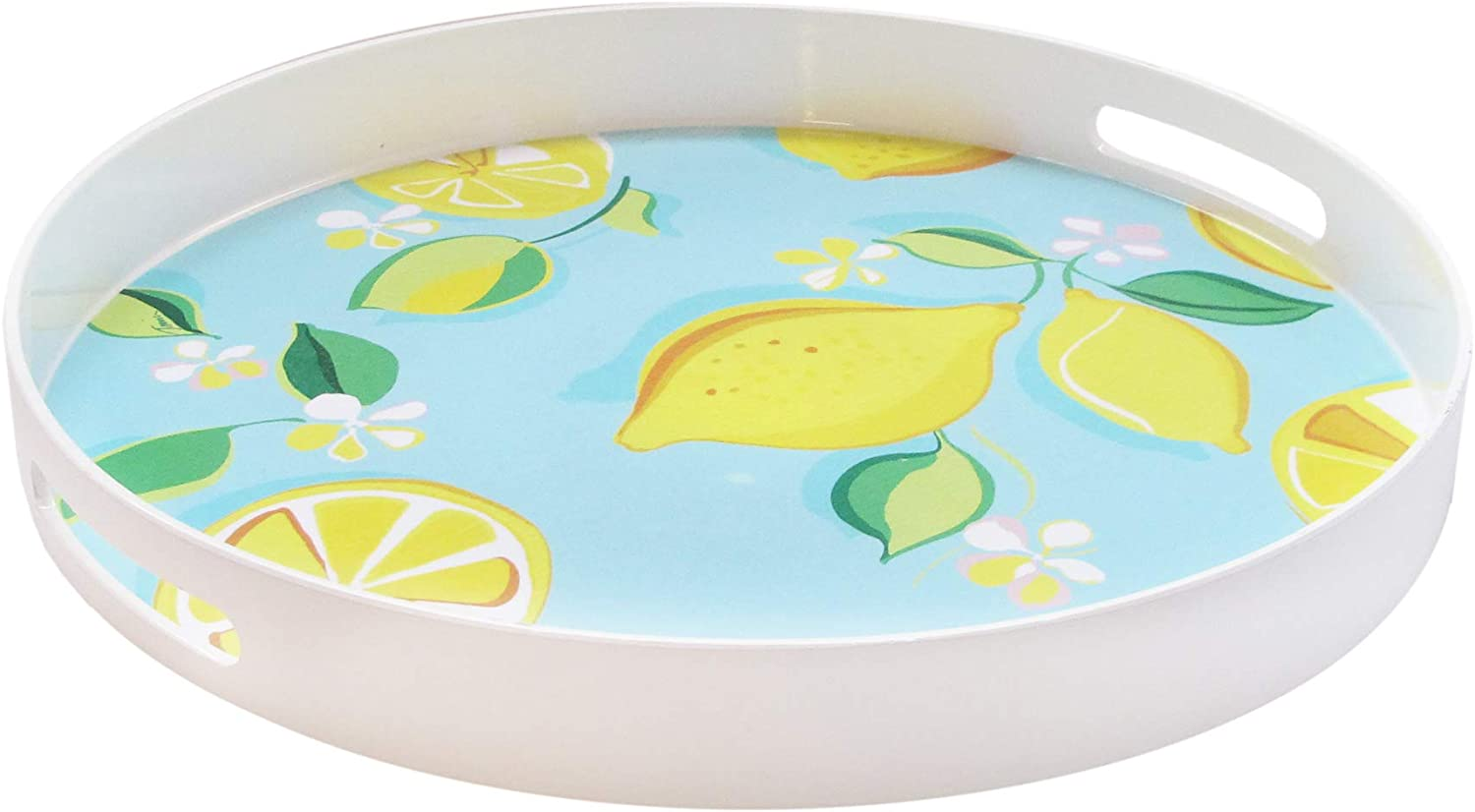 Trina Turk Round Serving Tray- Direct stock discount Indoor Max 80% OFF for Home Platter Outdoor
