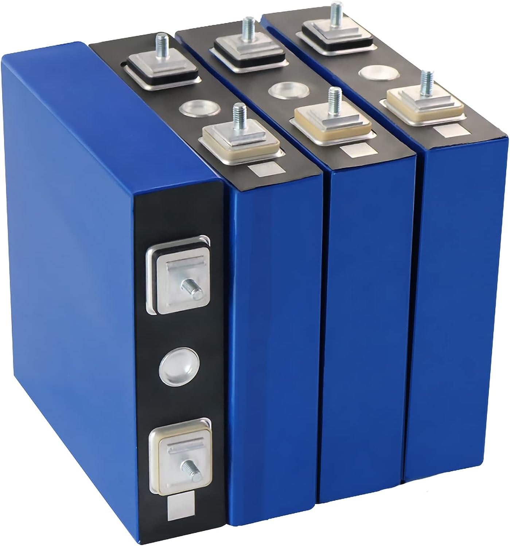 VARADOMO Grado A 4/8/16 PCS 3.2V 100AH LIFEPO4 Batería Recargable a estrenar 12V 24V 48V 100V Paquetes de fosfato de Hierro Litio Batería Solar,8pcs