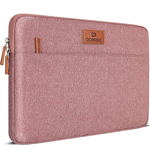 "DOMISO 11,6 Pollici Custodia Borsa per Computer Portatile PC Laptop Case Protettiva Sleeve per 11.6"" MacBook Air/12.9"" iPad PRO 2018/12,3"" Microsoft Surface PRO 6,4,/12"" Samsung Galaxy Book 2, Rosa"