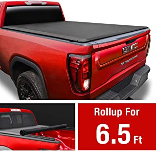 MaxMate Soft Roll Up Truck Bed Tonneau Cover for 2014-2019 Chevy Silverado/GMC Sierra 1500; 2015-2019 2500 HD 3500 HD | 2019 Classic ONLY | Fleetside 6.5' Bed