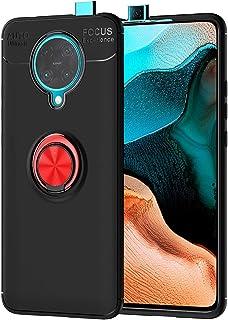 حافظة MOONCASE لجهاز Xiaomi Poco F2 Pro، حافظة سيليكون لينة من TPU مع حلقة حامل غطاء امتصاص الصدمات لـ Xiaomi Poco F2 Pro/...