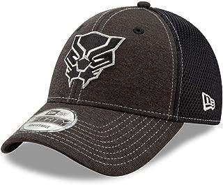 Black Panther Logo Dark Grey 9Forty Adjustable Hat