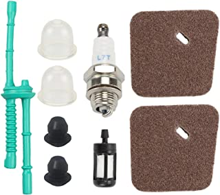 Mckin FS55R Air Filter Tune Up Kit Parts fits Stihl FS38 FS45 FS46 FS55 FS55C FS55RC FS45C HL45 KM55R KM55RC Trimmer Weed Eater