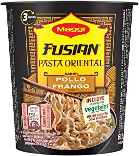 Maggi Fusian Pasta Oriental Noodles Sabor Pollo, 61.5g