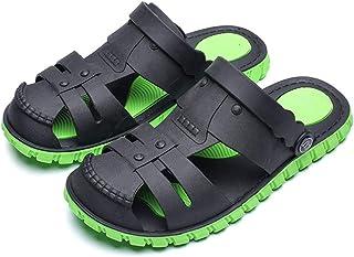 FDSVCSXV Summer Garden Clogs Lightweight Quick-Dry Mesh Slipper Walking Sandals Indoor Outdoor Beach Pool Non-Slip Shoes M...