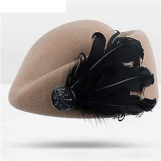 JietaodianziAU Mens Shose Beret Ms. Warm Jazz Winter Fashion Women's Cap, Shoes