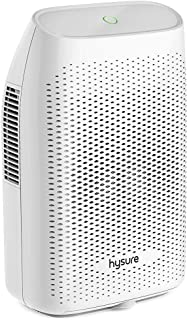 hysure Quiet and Portable Dehumidifier Electric, Deshumidificador, Home Dehumidifier for Bathroom, Crawl Space, Bedroom, RV, Baby Room (2000ml)