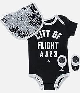 Michael Jordan Infant Layette CITY OF FLIGHT 3 Pcs Sets