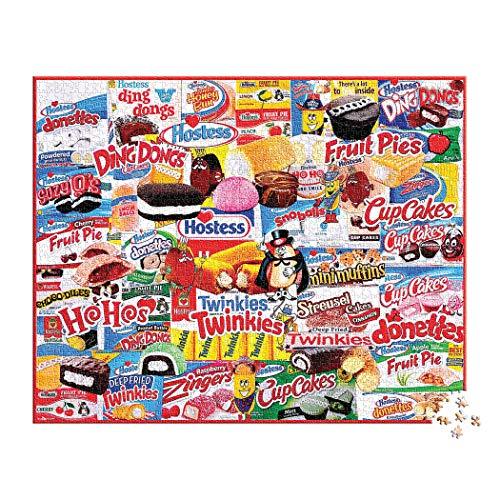 White Mountain Puzzles Hostess - 1000 Piece Jigsaw Puzzle