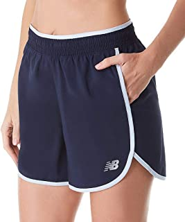 new balance Women's Accelerate Short 5 in 55% Recycled, 45% Polyester