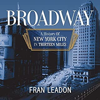 Broadway audiobook cover art
