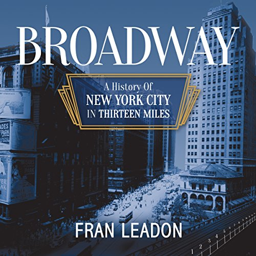 Broadway audiobook cover art