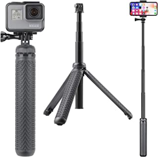 Smart Phones Digital Cameras Ex-pro/®-Monopede Arm selfie Extendable with Adjustable Phone Holder for iPhone with a Tripod Mount