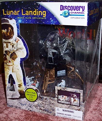 Discovery Channel LUNAR LANDING Moon walk adventure 1 72 Scale by Discovery Channel
