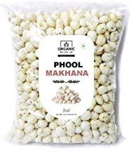Organic Box Phool Makhana Lotus Seeds Pop/Gorgon Nut Puffed Kernel (Makhana) Grade - Big Size Pouch, 250 g