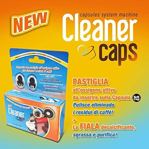 4 Capsule pulizia gruppo erogatore per tutte le macchine Nespresso