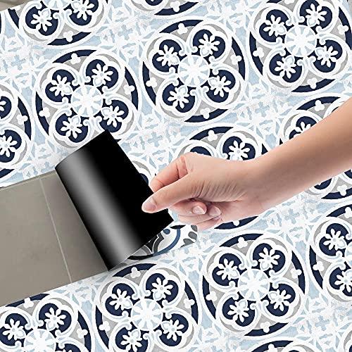 Azulejos Adhesivos Huevo Pato Azul GrisVinilosCocinaAzulejosAntisalpicadurasVinilosBañoAzulejosImpermeableVinilosdeparedDecorativosPinturaparaAzulejosAdhesivodePared 20x100cm/3pcs