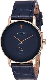 ساعة سيتيزن للرجال كوارتز Be9183 03L جلد ياباني