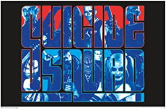 Trends International Suicide Squad Group Movie Blacklight Poster 24x36 inch