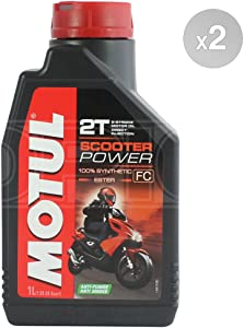 Motul Scooter Power Fully Synthetic Engine Oil Litre