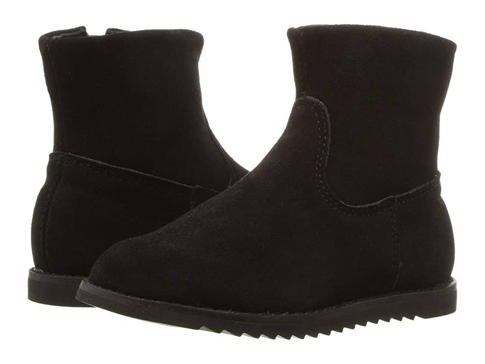 Old Soles These Boots (Toddler/Little Kid) (Black Suede) Girl