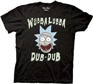 Ripple Junction Rick and Morty Wubbalubba Dub-Dub Mens T-Shirt