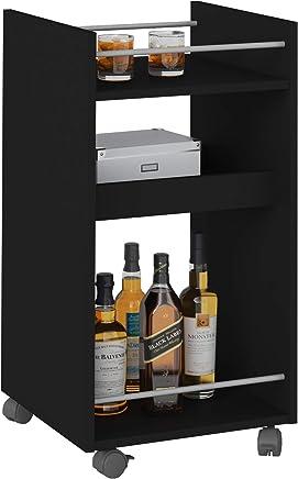 Artely 003275 Cabinet, Black - H 74.5 cm x W 40 cm x D 40 cm