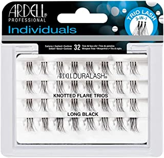 Ardell Trio Long Individuals Lashes, Black, Long
