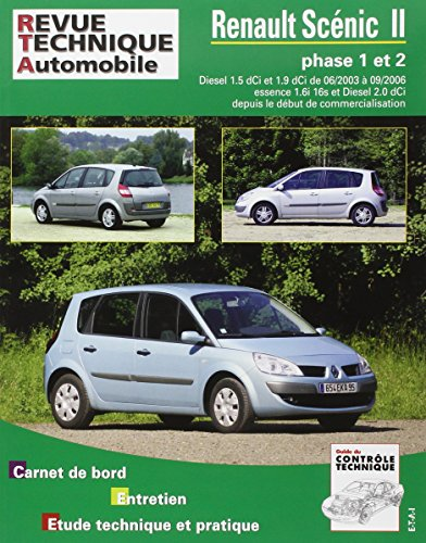 E.T.A.I - Revue Technique Automobile RTA 679 - RENAULT SCENIC/GRAND SCENIC II - 2004 à 2006