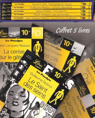 Coffret 5 livres édition Librio (Noir) Le poulpe