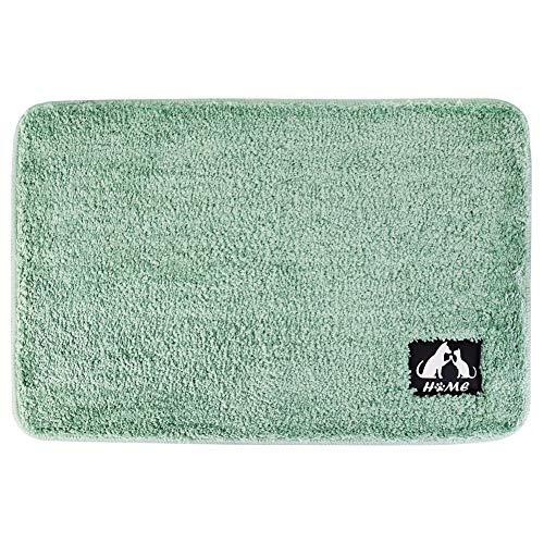 SYH003 マット 吸水性 カーペット 浴室 玄関 オールシーズン おしゃれ 玄関マット 80×120cm グリーン
