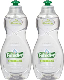 Palmolive Ultra Dish Washing Liquid Pure+clear, 10oz - 2 Pack...