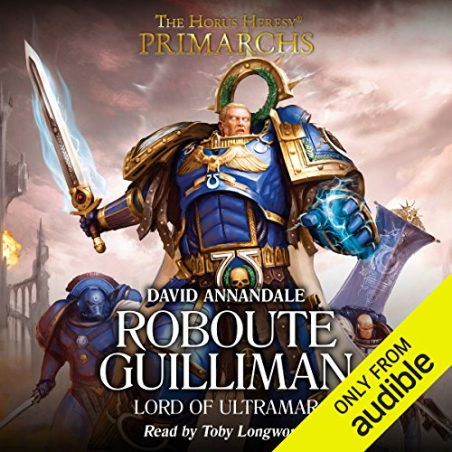 Roboute Guilliman audiobook cover art