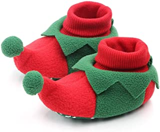 YEAPOOK Cute Baby Christmas Shoes Anti-Slip Slipper Floor Socks Toddler Girls Boys Non-Slip Booties