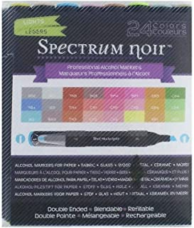 Spectrum Noir Next Generation Lights Alcohol Markers 24-Pack
