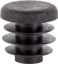 GAH-Alberts 426682 einddop voor ronde buizen | kunststof, zwart | diameter 25 mm | set van 2 doppen voor ronde buizen
