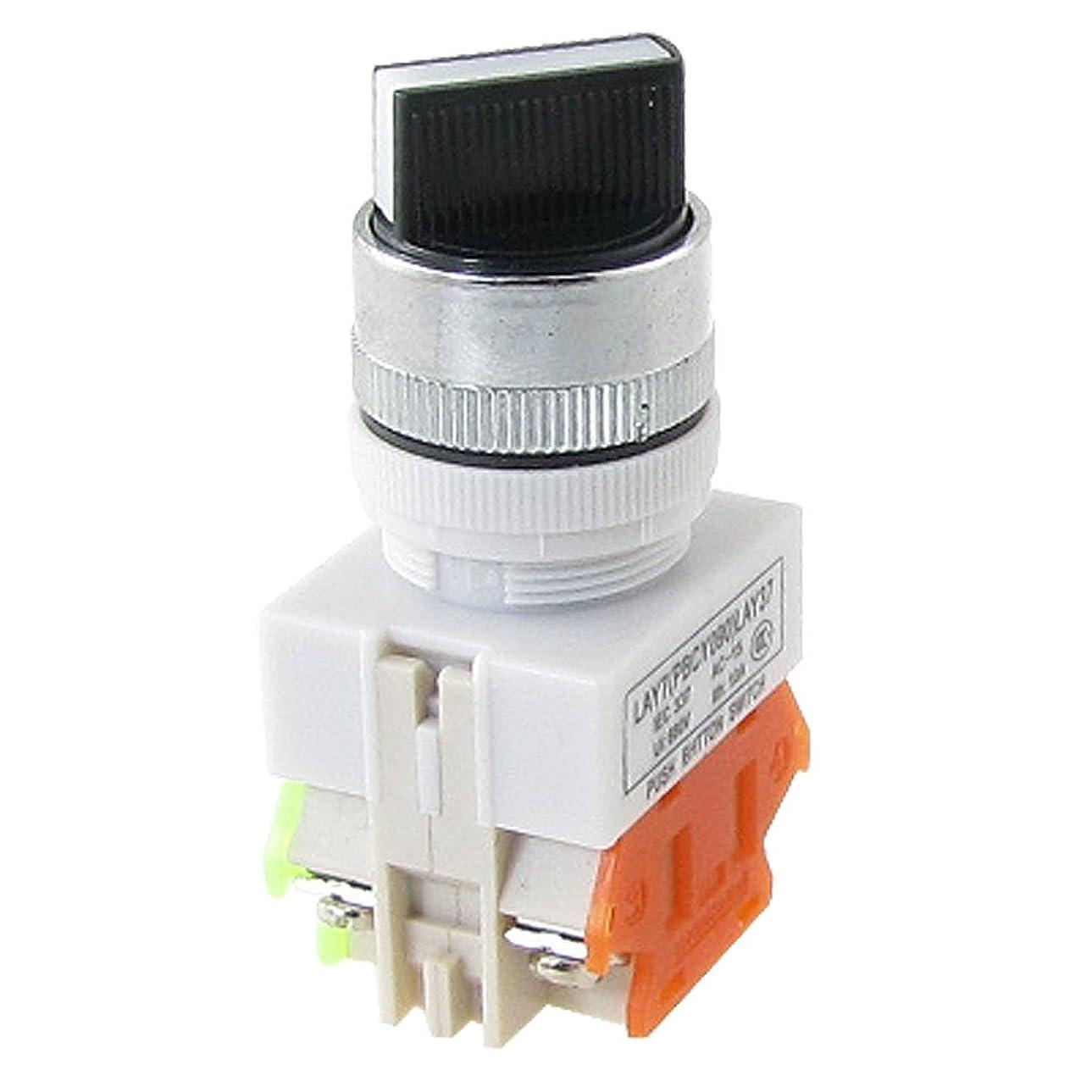 矛盾するボアストライプuxcell ロータリースイッチ 工業セレクター LAY37 Ui660V 2ポジション