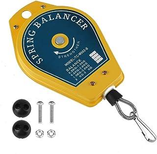 Balanceador de resorte retráctil con accesorios,Herramienta para Accesorios Soporte,De hierro + plástico,Color amarillo,Pa...